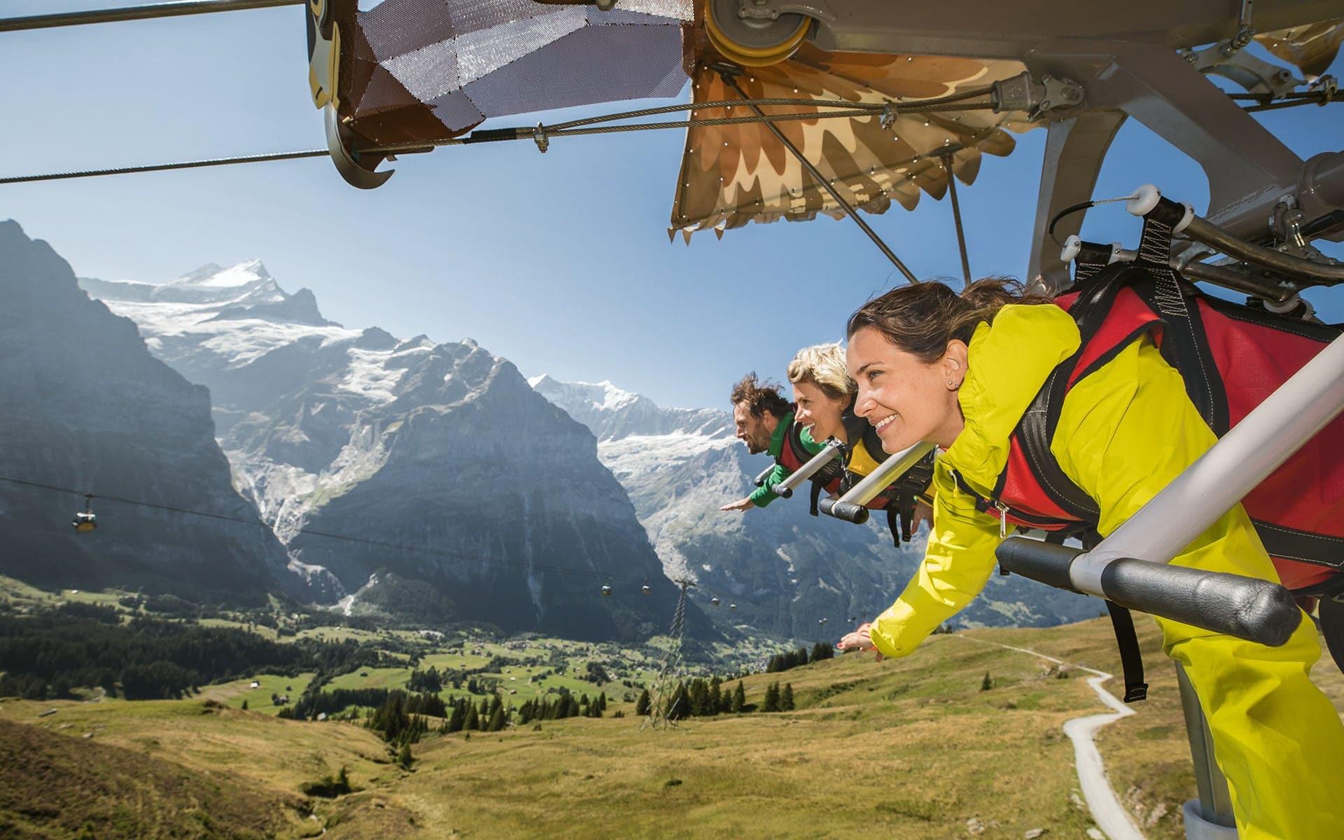 Skyglider in Grinelwald